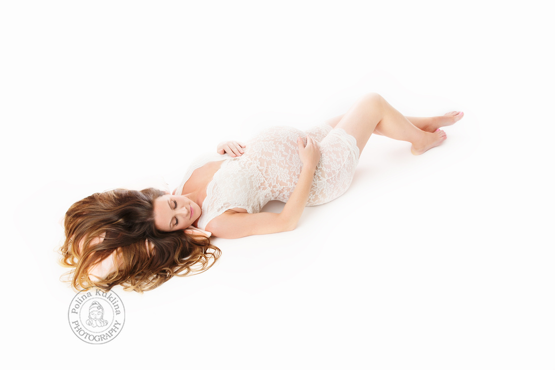 In-studio maternity photographer