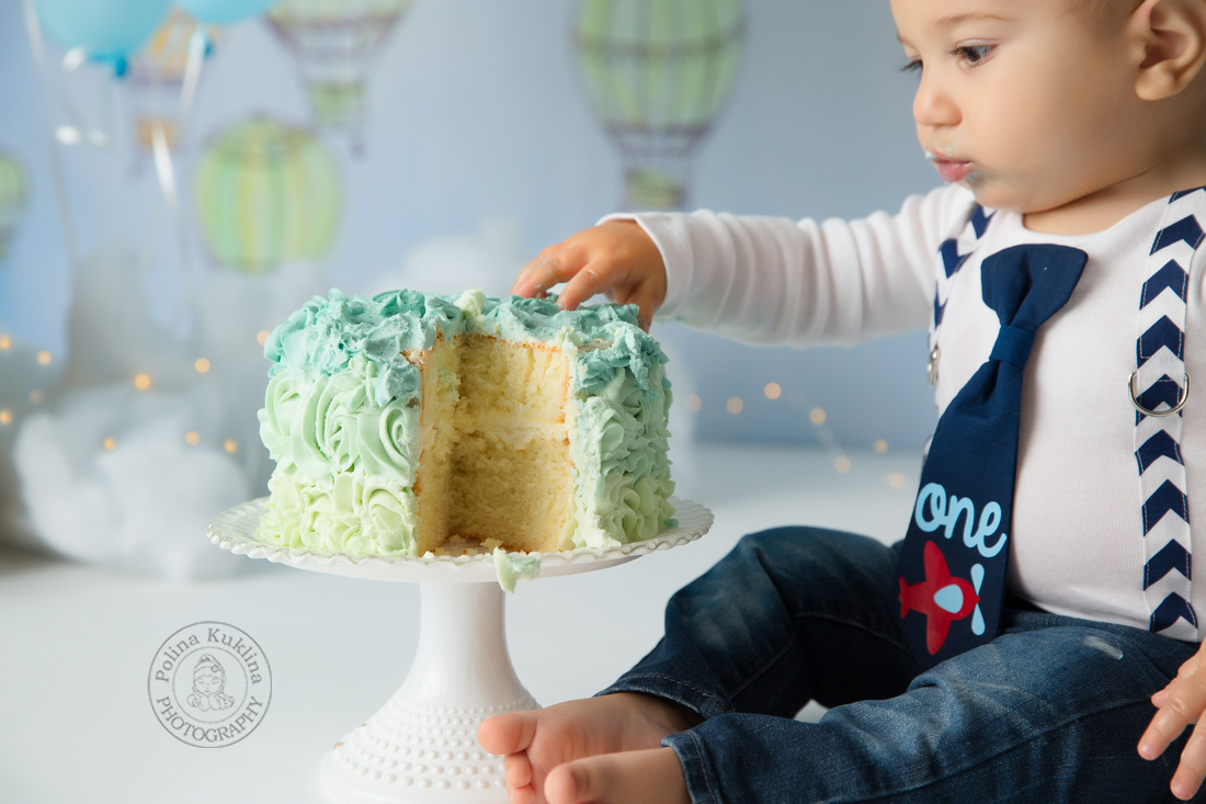 First Birthday photo session.